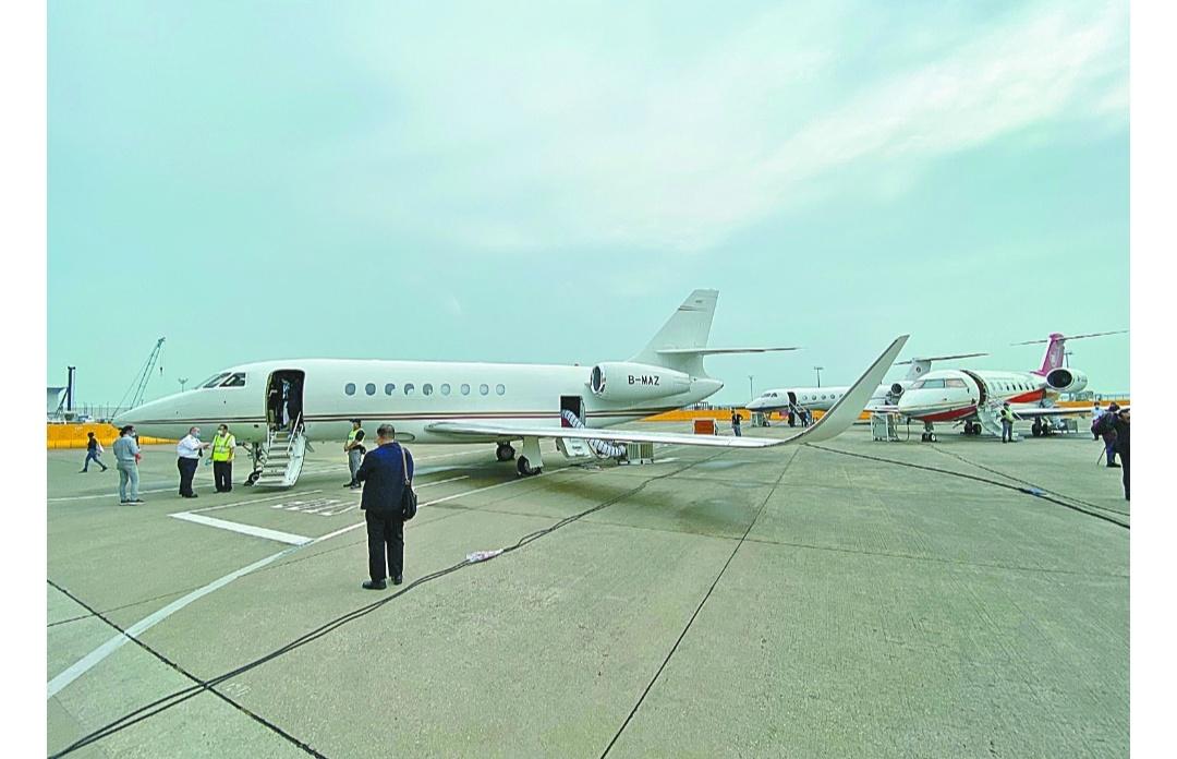 公務機展開幕   拓國際商機
