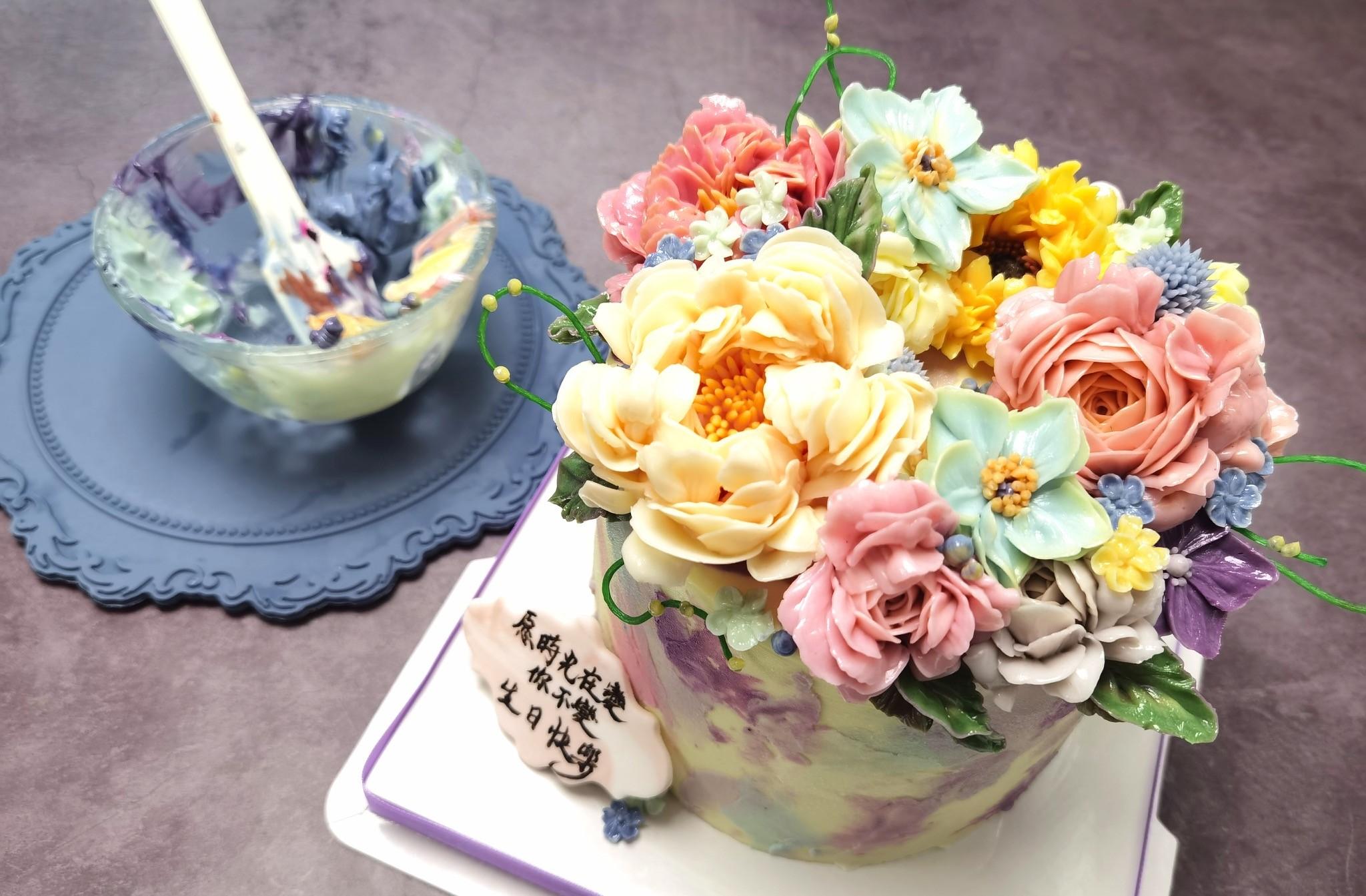 【企業診斷】興趣變事業 開兩店主打裱花蛋糕