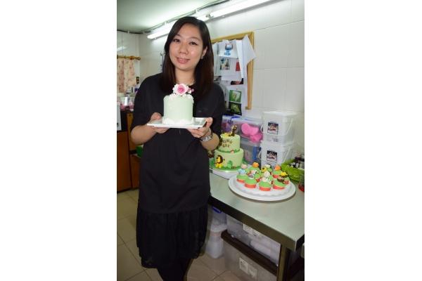 【企業診斷】80後兼職做翻糖蛋糕變創業
