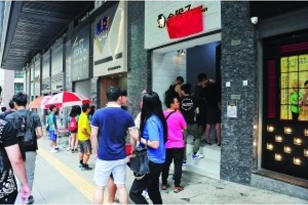 美食街優惠引客   生意增三成
