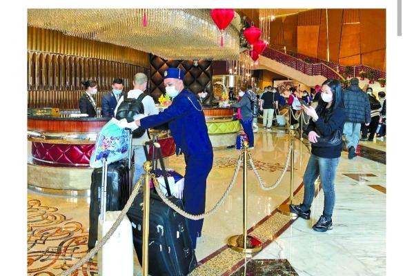 酒店新春前段跌兩成  中後段更慘