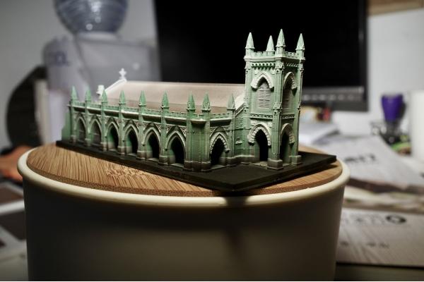 【企業診斷】三人創工作室 主打3D澳門建築模型