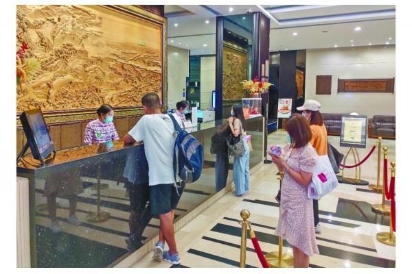旅遊業:兩三成酒店訂房取消